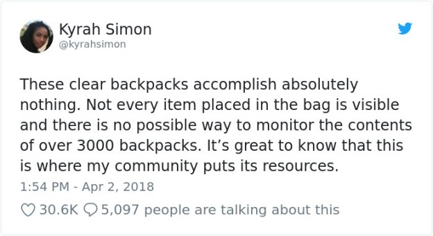 980805671175245824-png__700 Parkland Students Are Trolling Their Mandatory Clear Backpacks By Carrying Things That Scare Conservatives The Most Design Random