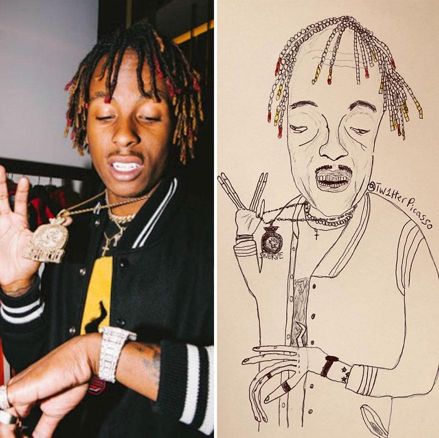 Rich The Kid Fan Art