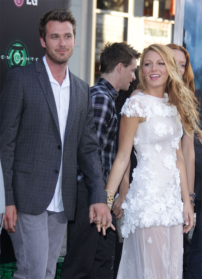 Blake Lively With Her Brother Eric