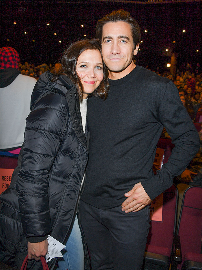 Jake Gyllenhaal With His Sister Maggie