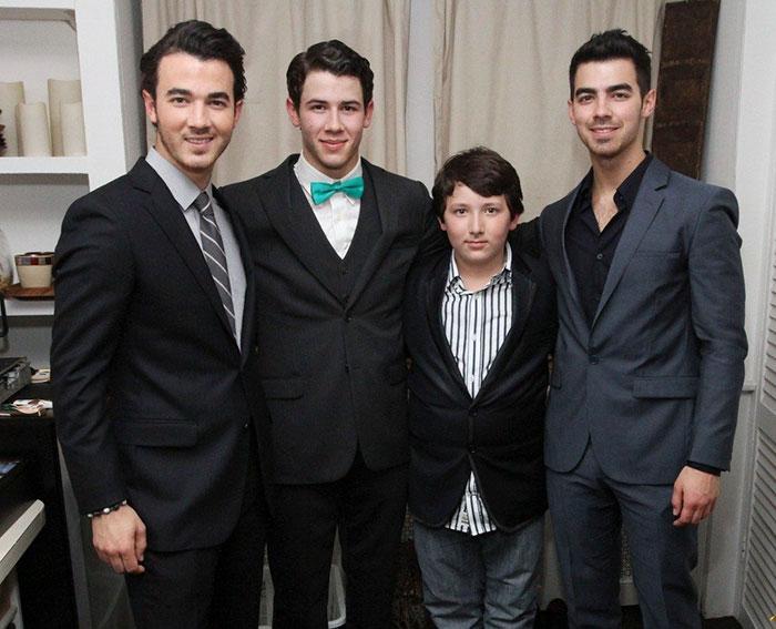 Kevin, Joe, Nick, And Frankie Jonas