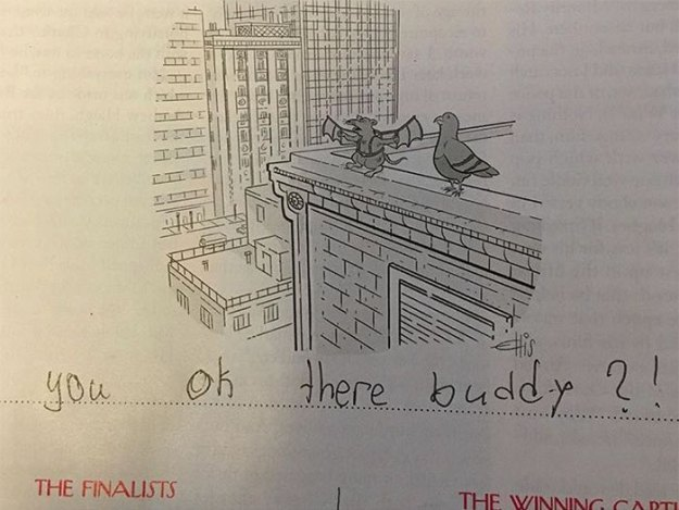 girl-new-yorker-cartoon-caption-bess-kalb-4 11 Funny Reasons Why The New Yorker Should Hire This 9-Year-Old Girl To Write All Their Cartoon Captions Design Random