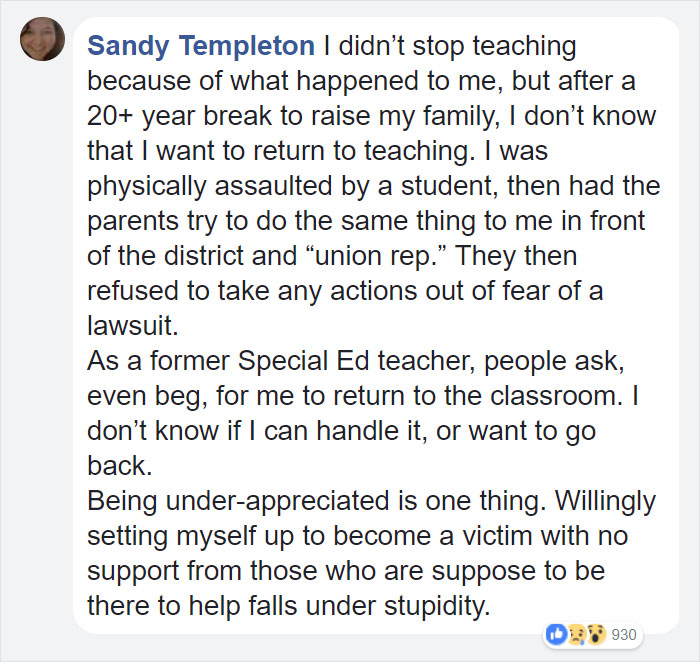 teacher-blames-parents-disrespectful-students-julie-marburger-texas-31 This Teacher Had Enough Of The BS Parents And Kids Give Her, So Before Quitting She Posted This Epic Rant Online Design Random