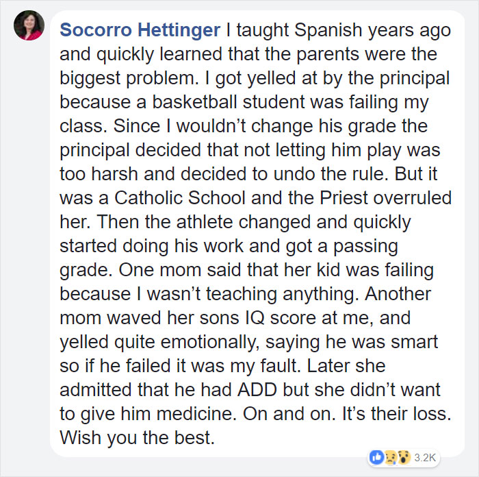 teacher-blames-parents-disrespectful-students-julie-marburger-texas-33 This Teacher Had Enough Of The BS Parents And Kids Give Her, So Before Quitting She Posted This Epic Rant Online Design Random