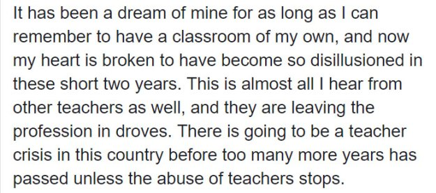 teacher-blames-parents-disrespectful-students-julie-marburger-texas-5-5ac71f454a56f__700 This Teacher Had Enough Of The BS Parents And Kids Give Her, So Before Quitting She Posted This Epic Rant Online Design Random