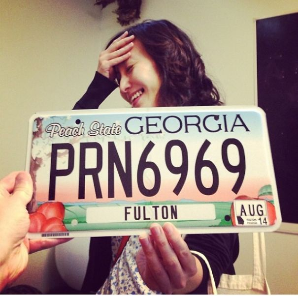 PRN 6969 - My Girlfriend's State Given License Plate Number