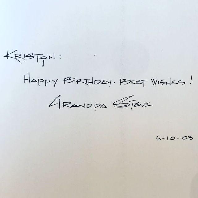 La escritura de mi abuelo fallecido