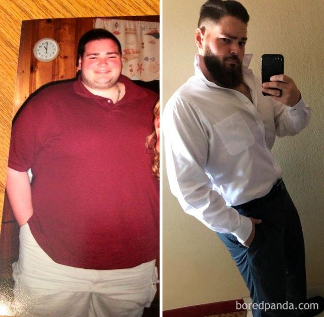 De 218 kilos a 100