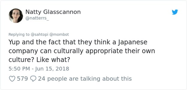 1007681862528126976-png__700 Woman Accuses Sony Of Insulting Japanese Culture By Hiring A White American In Japanese Clothes, Doesn't Expect This Reply Design Random