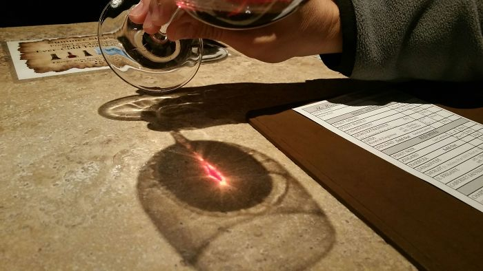 Found The Eye Of Sauron While Wine Tasting