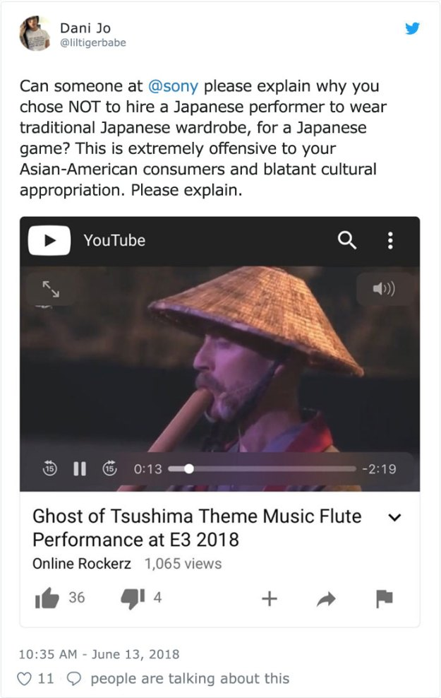 girl-accuses-sony-cultural-appropriation-shakuhachi-bamboo-flute-cornelius-boots-1-5b2757dd6d985__700 Woman Accuses Sony Of Insulting Japanese Culture By Hiring A White American In Japanese Clothes, Doesn't Expect This Reply Design Random