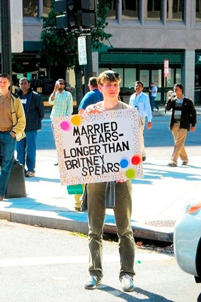 Married 4 Years - Longer Than Britney Spears