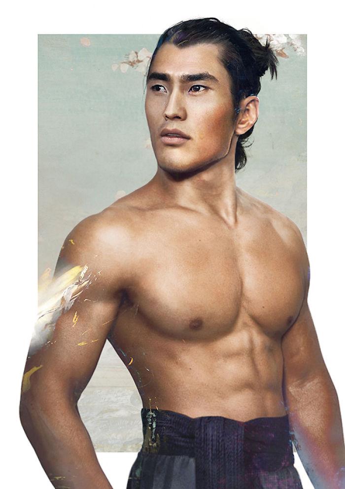 Captain Li Shang From Mulan