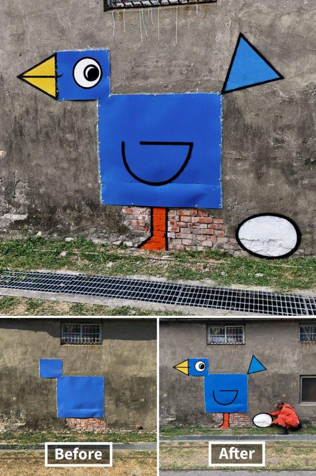 street-art-tom-bob-new-york-city-10-5b169f62cda42__880 Genius Street Artist Is Running Loose In New York, And Let's Hope Nobody Catches Him (30+ New Pics) Art Design Random