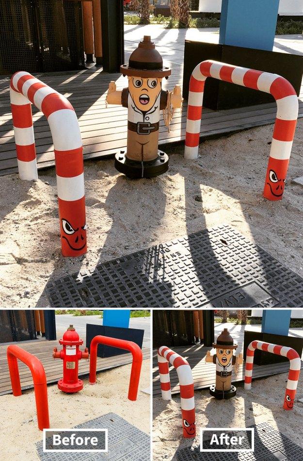street-art-tom-bob-new-york-city-18-5b169f73b2413__880 Genius Street Artist Is Running Loose In New York, And Let's Hope Nobody Catches Him (30+ New Pics) Art Design Random