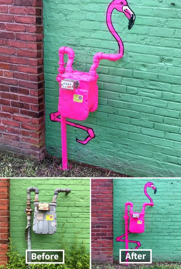street-art-tom-bob-new-york-city-39-5b169fb4776de__880 Genius Street Artist Is Running Loose In New York, And Let's Hope Nobody Catches Him (30+ New Pics) Art Design Random