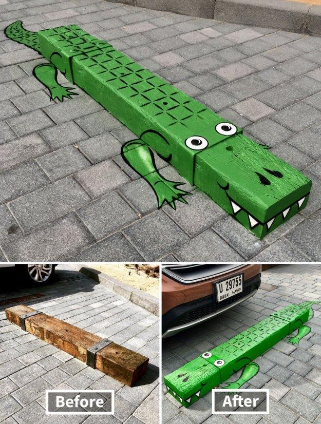 street-art-tom-bob-new-york-city-5-5b169f577a898__880 Genius Street Artist Is Running Loose In New York, And Let's Hope Nobody Catches Him (30+ New Pics) Art Design Random