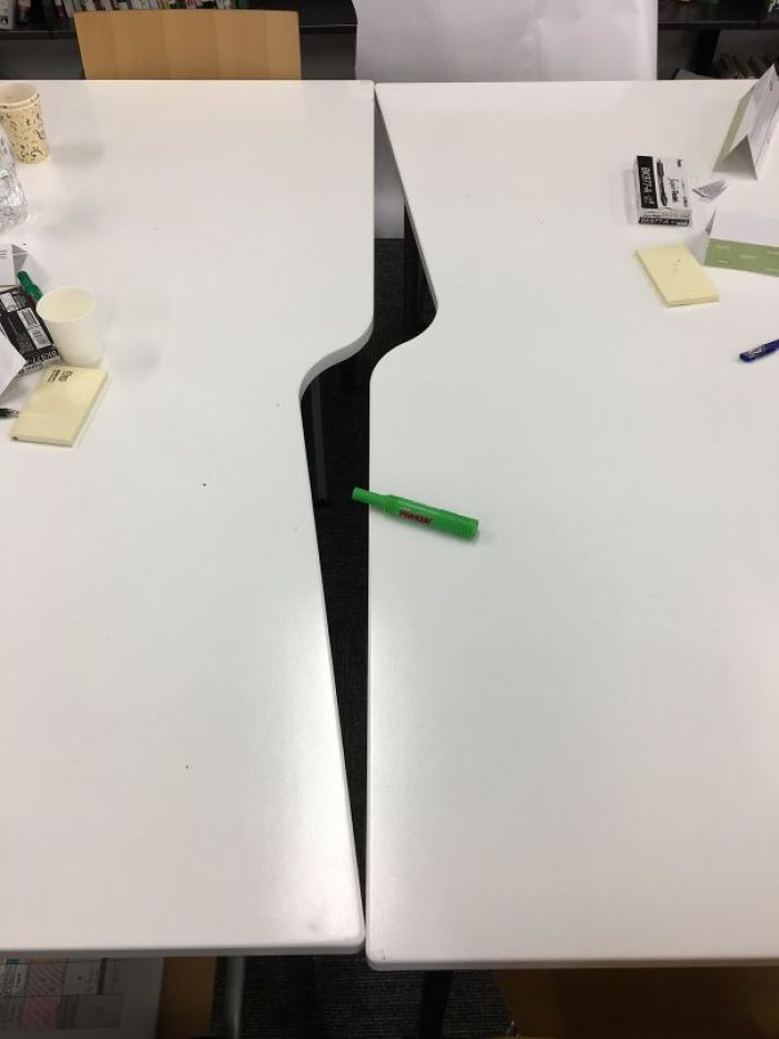 These Tables At My Teaching Workshop
