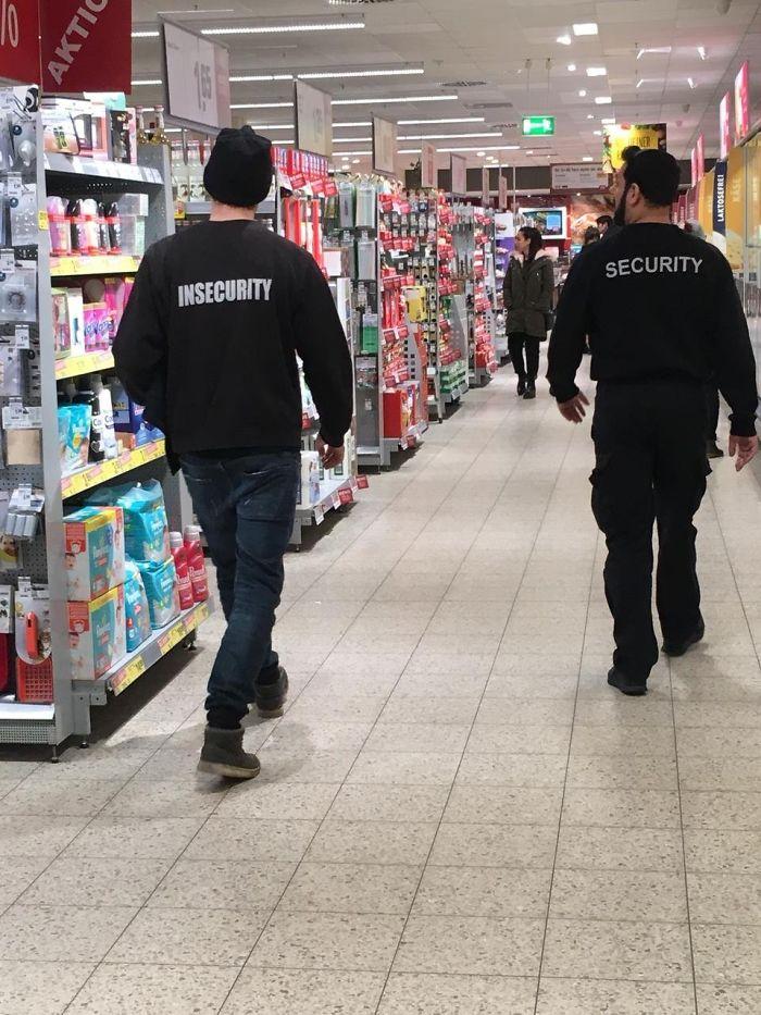Enfrentamiento en el supermercado