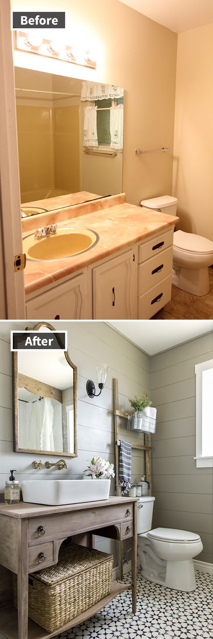 Transformación del baño