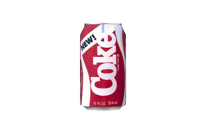 New Coke, Coca-Cola Co, 1985