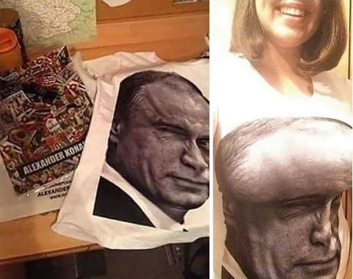 Vladimir Camiseta de Putin
