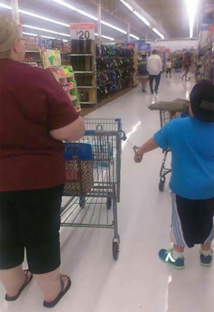 Visto en Walmart En mi ciudad natal