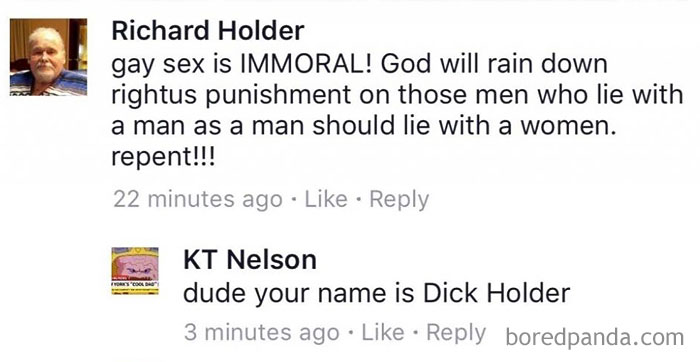 Ahh Sr. Dick