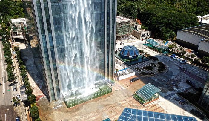 maciço-artificial-cachoeira-arranha-céu-china-guiyang-27