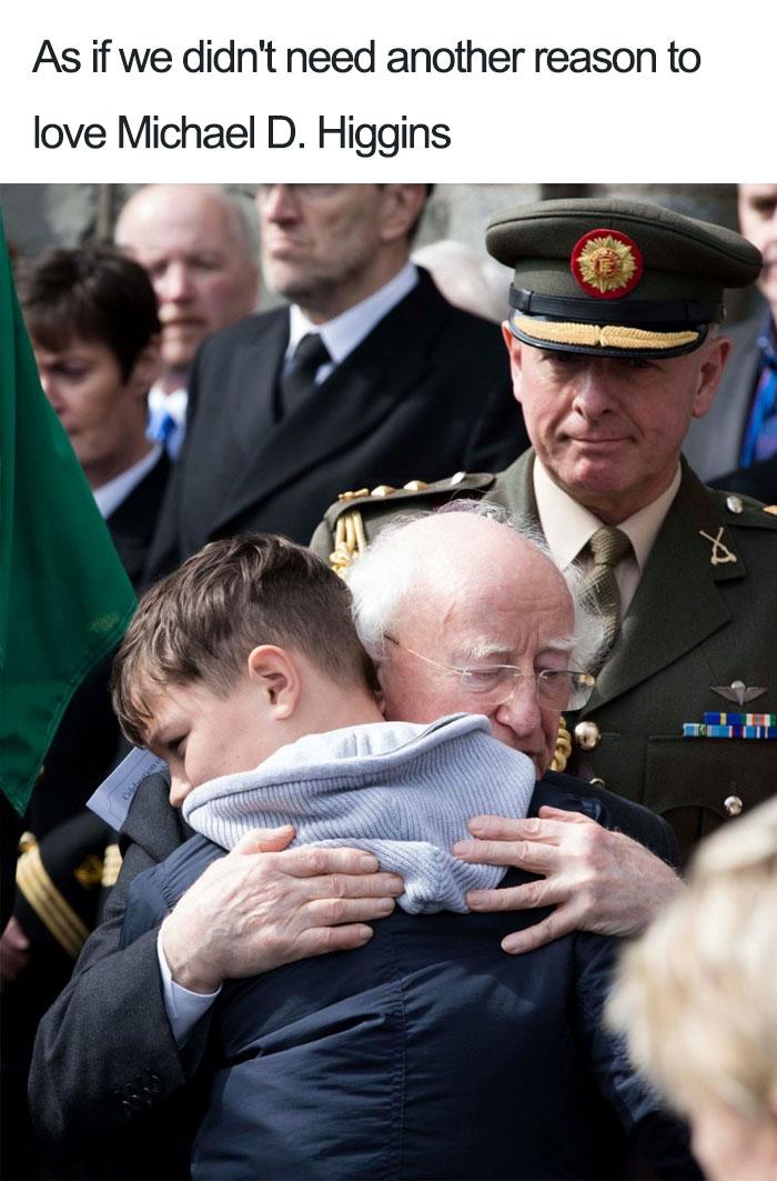 Irlanda Presidente Michael Higgins