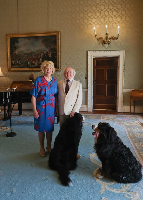 Ireland President Michael Higgins