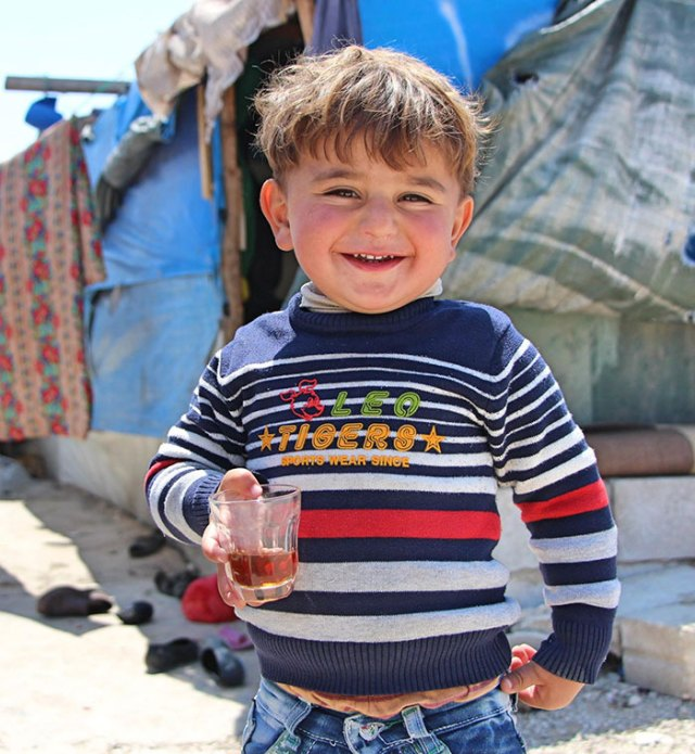 """If I Had A Super Power, It Would Be To Fly. I Would Tell Other Children From Around The World To Come And Play With Me And My Sisters, And To Drink Tea Together!"" – Mohamad, A Syrian Refugee In Lebanon"