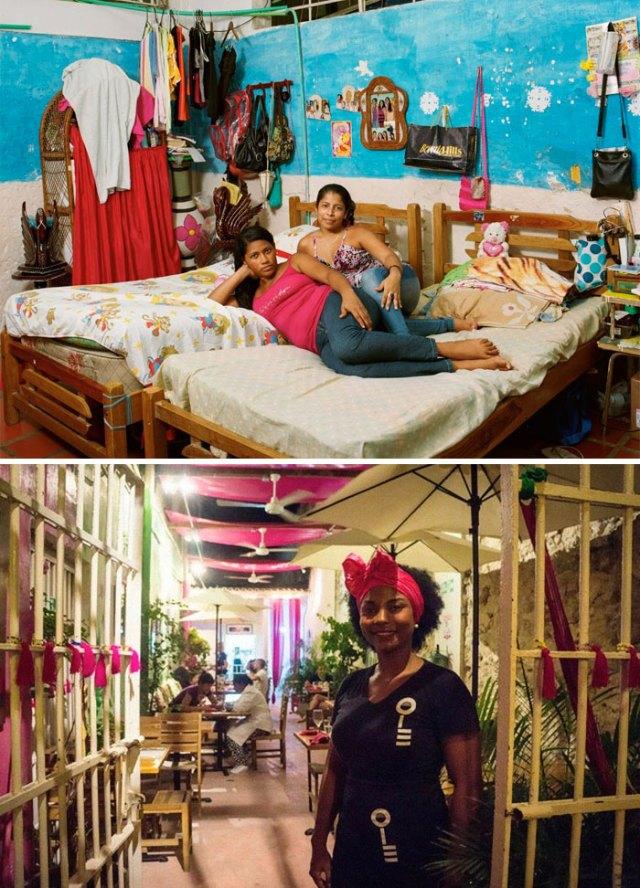 Prisión de media protección para mujeres de San Diego, Cartagena, Colombia
