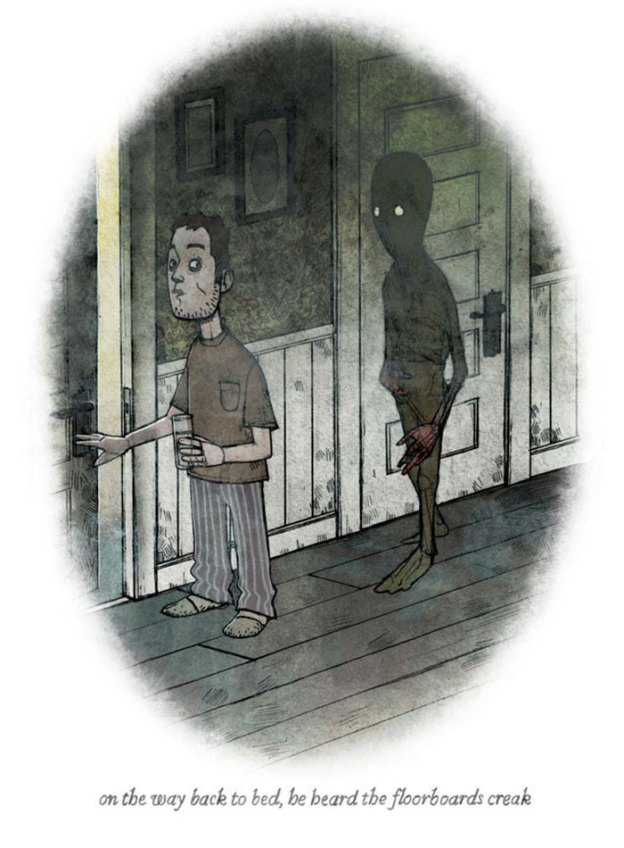 behind-you-scary-illustrations-brian-coldrick18-5b6acfac2a03c__700 20+ One-Picture Horror Stories That We Do Not Recommend Reading Alone Design Random