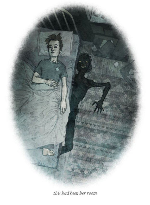 behind-you-scary-illustrations-brian-coldrick28-5b6acfce1e277__700 20+ One-Picture Horror Stories That We Do Not Recommend Reading Alone Design Random