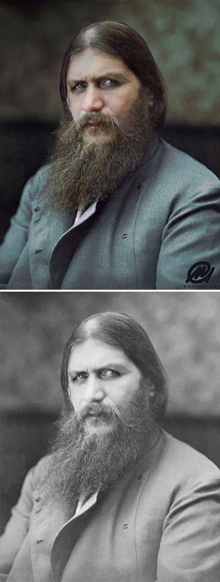 Grigori Rasputin. Amante de la reina rusa