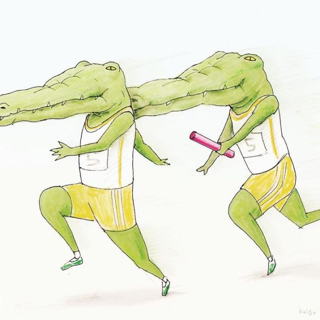 crocodile-life-animals-illustrations-keigo-japan-8-5b7a7cd4e8acf__700 20+ Problems Of A Crocodile Hilariously Illustrated By Japanese Artist Keigo Design Random