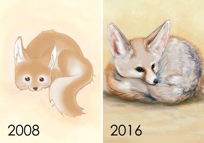 ¡Esto fue tan divertido de dibujar! Usé la primera foto que dibujé con Photoshop y lo hice de nuevo. ¿Alguna mejora?