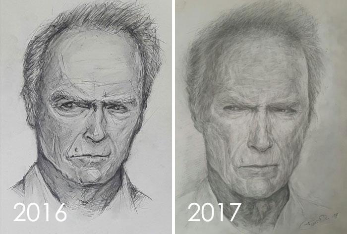 1 año de diferencia (progreso)