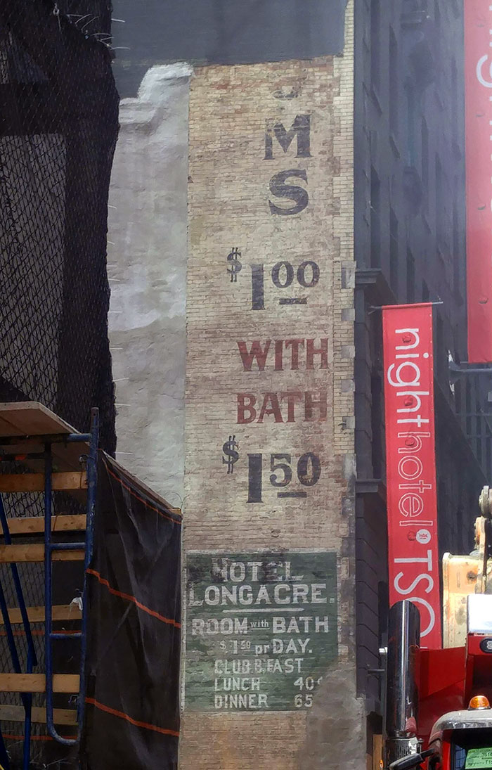 Uncovered At A Times Square Construction Site