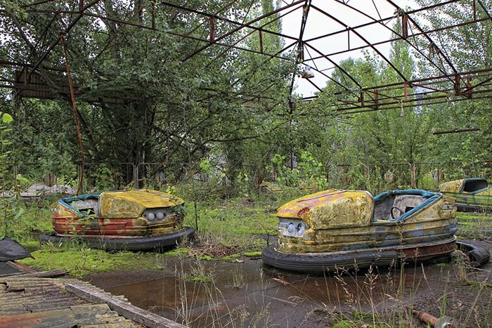 Chernobyl Exclu zona de Sion, Ucrania