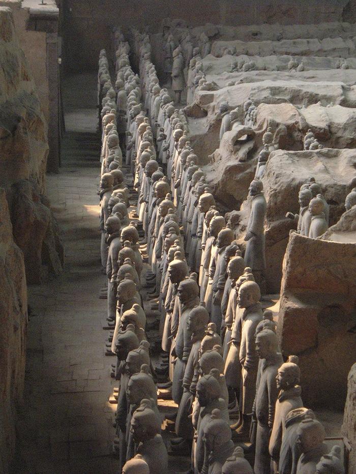 Mausoleo de la Primera Emperador Qin, Qin Shi Huang, China