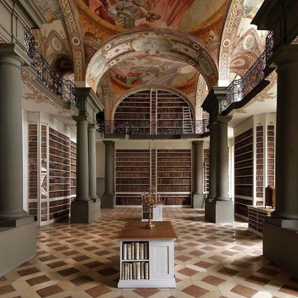 Saint Emmeram's Abbey Library, Regensburg, Germany