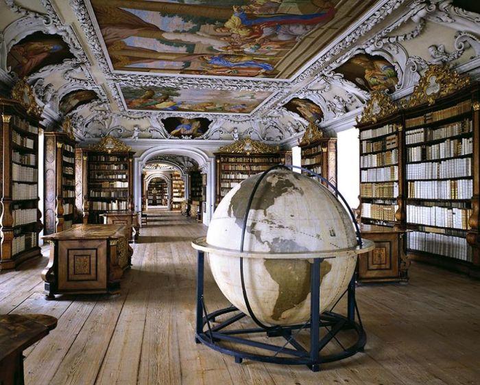 Wiblingen Abbey Library, Wiblingen, Germany