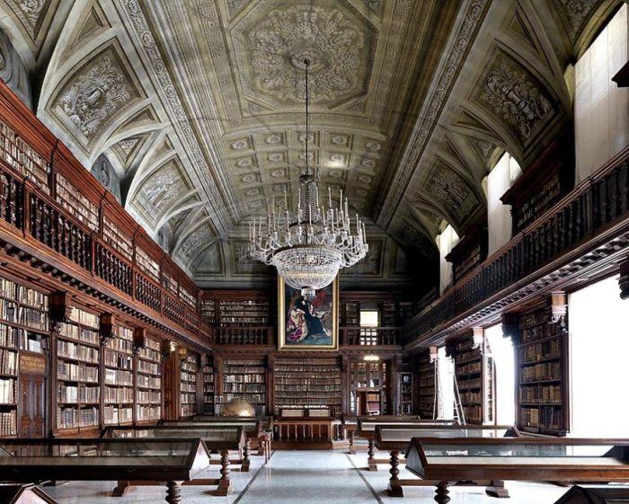 Braidense National Library, Milan, Italy