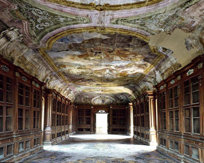 Padula Charterhouse Library, Padula, Italy