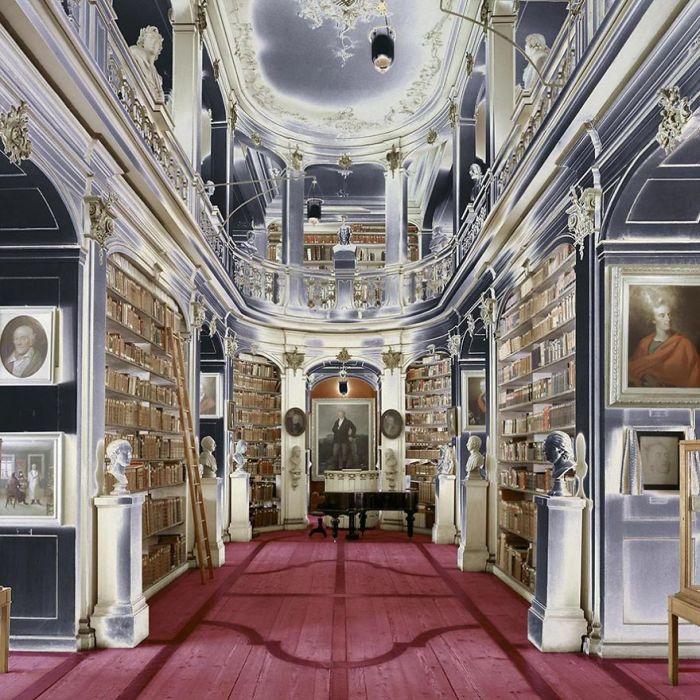 Duchess Anna Amalia Library, Weimar, Germany