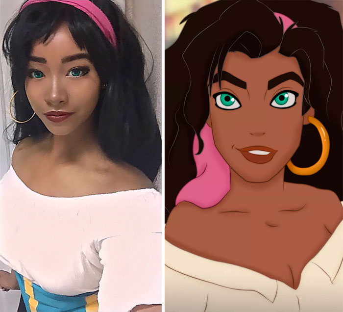 Esmeralda From The Hunchback Of Notre-Dame
