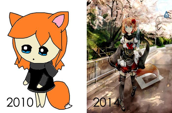 Un enorme progreso en 4 años
