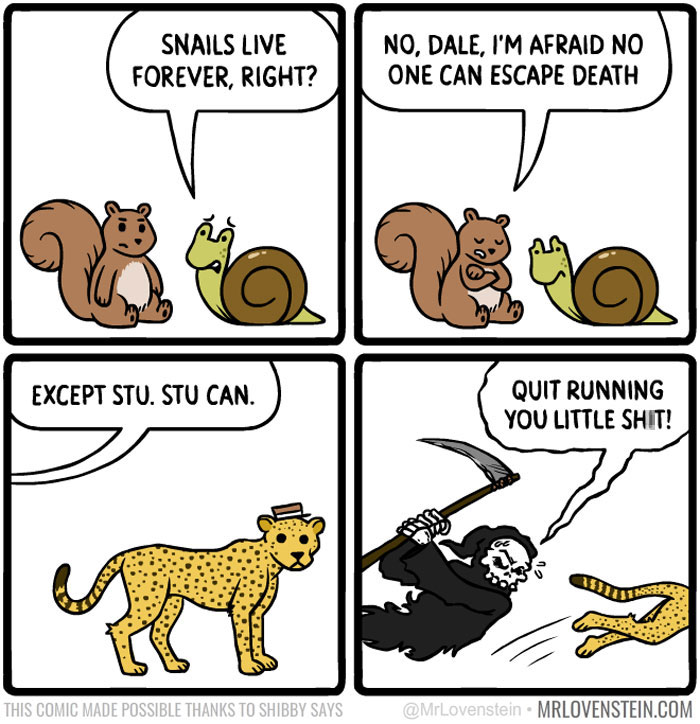 Image of: Bored Panda Funnycomicsmrlovenstein Blazepress 20 Brutally Hilarious Comics For People Who Like Dark Humor new